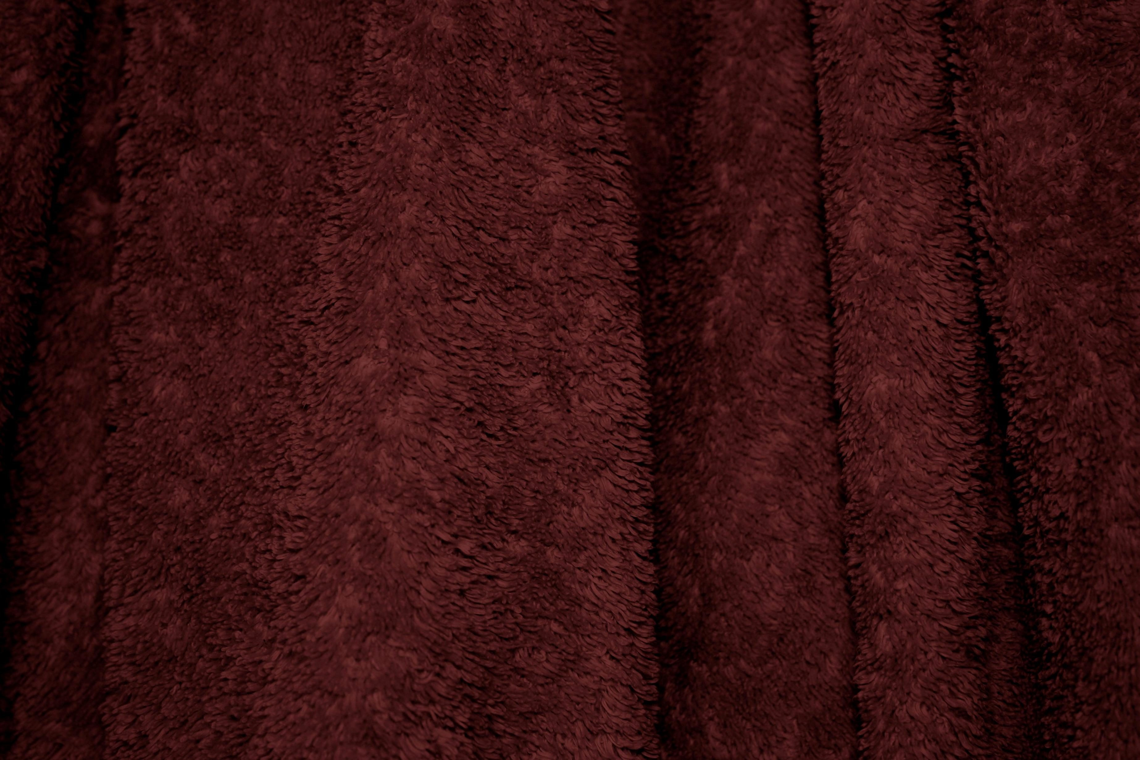 Free Picture Textile Maroon Terry Cloth Bath Towel
