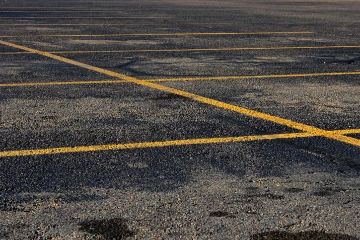 estacionamiento, asfalto