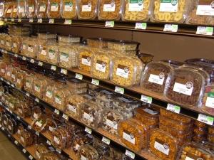 loja de comida, comida, frascos