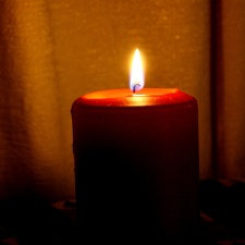 flame, burning candle