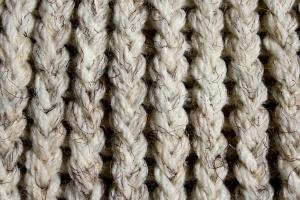 úplet, textury, přírodní vlákna