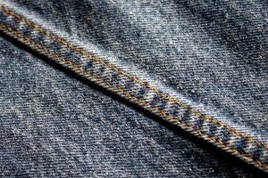 สิ่งทอ ผ้า ตะเข็บ ยีนส์ กางเกงยีนส์สีน้ำเงิน