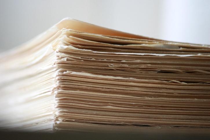 zerrissenen Kanten, Buch, Seiten, Papier, Karton