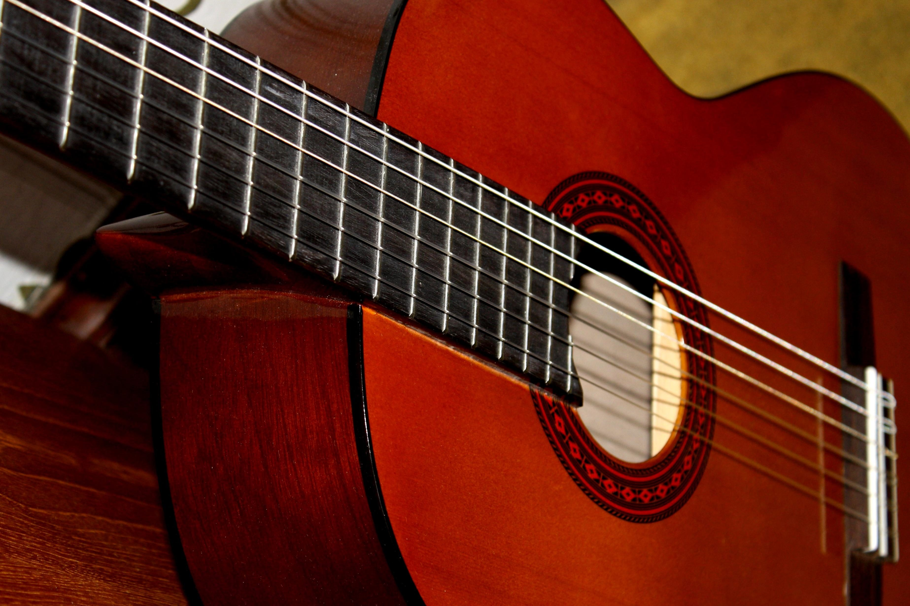 Imagen gratis guitarra cl sica guitarra ac stica m sica for Guitarras la clasica