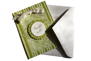 handmade, paper cards, envelope