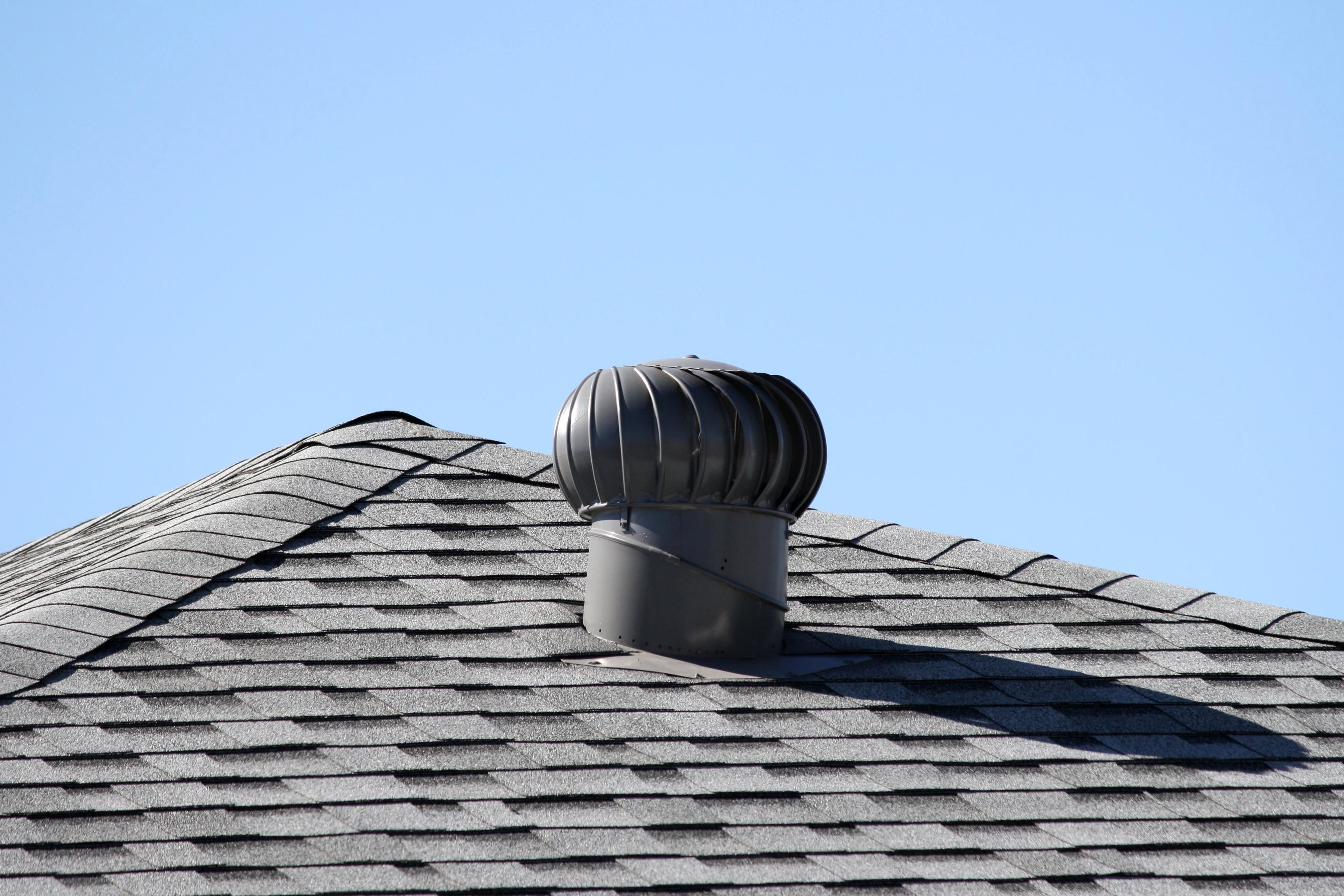 Free Picture Spinning Turbine Attic Roof Vent