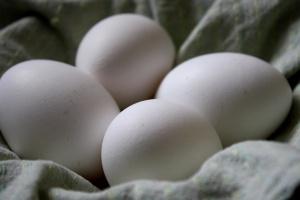 munanvalkuainen eggs