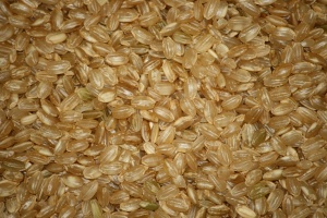short grain, brown rice, seed