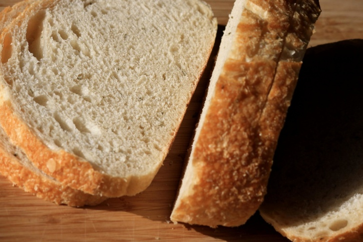 slices, sourdough, bread, carbohydrate