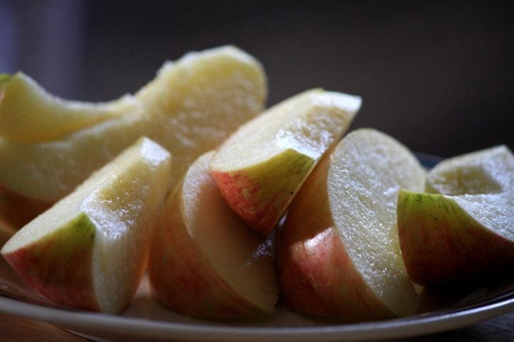 φέτες μήλου
