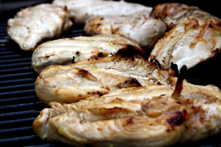 pileća prsa, meso, roštilj, roštilj meso