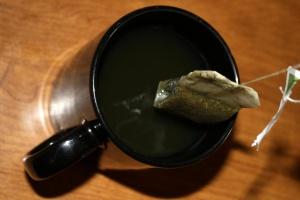 šálky, čaj, čajové vrecká