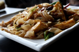 frokost, nudler, mad pad thai mad