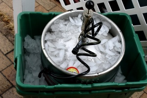 keg, cold, ice, ice machine