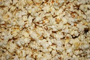 popcorn, texture