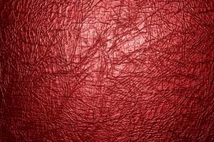 rött läder, textur
