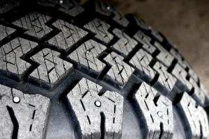 neumático de coche, los neumáticos de nieve, textura