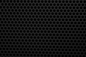 black, metal mesh, round holes, texture