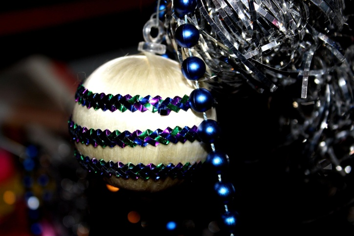 Ornament pentru bradul de Craciun, anul nou,