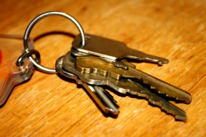 metal keys, security, lock, key
