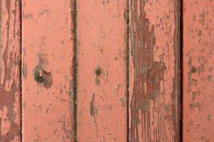 peeling planks, red paint, old wooden boards, planks, texture
