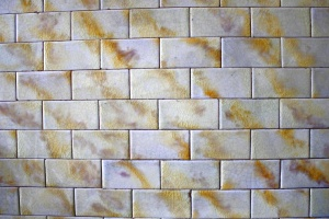 golden white, wall tiles, texture