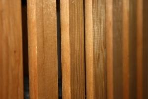 wooden slats, planks, close