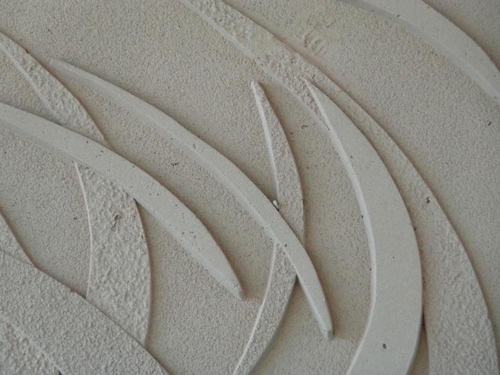 formes abstraites, le ciment, la texture, le béton