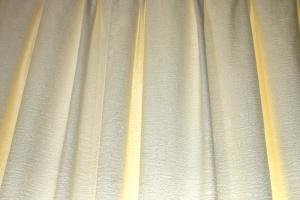 krem boje, zavjese, tekstura, textil
