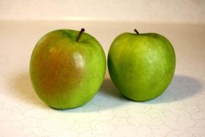 fresh fruit, granny smith apples, green apples