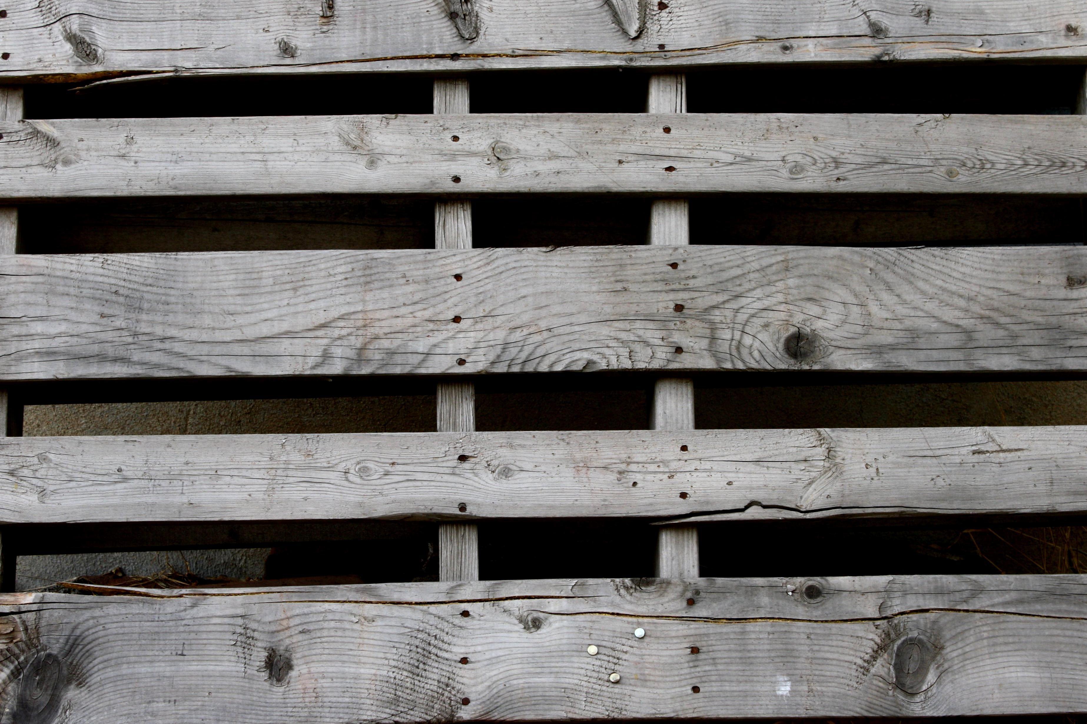 Old Wooden Pallet Planks Pattern