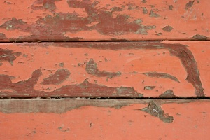 peeling paint, red paint, old, wooden boards, planks, texture