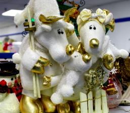 reindeer, toys, decoration