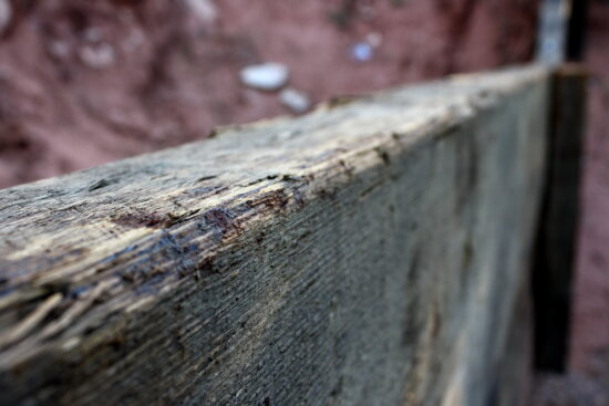 top, old, wooden plank, wooden board