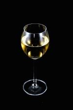 bebida, vidrio, jugo de manzana