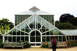 botánica jardín, arquitectura, invernadero