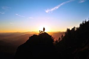 sunrise, sunset, travel, trees, evening