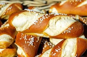 pečené zboží, pekárna, chléb, snídaně