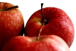 빨간 사과, 신선한 과일