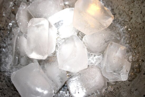 bowl, ice, cold ice