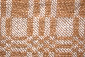 Textil, brun, hvit, vevd stoff, tekstur, rutemønster