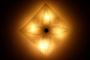 lumini de plafon lampă, lumină, întuneric, pătrat,