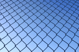 wire fence, texture