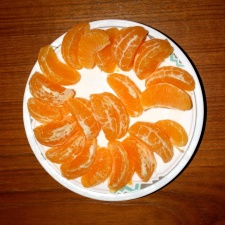 mandarin, orange slices, sections