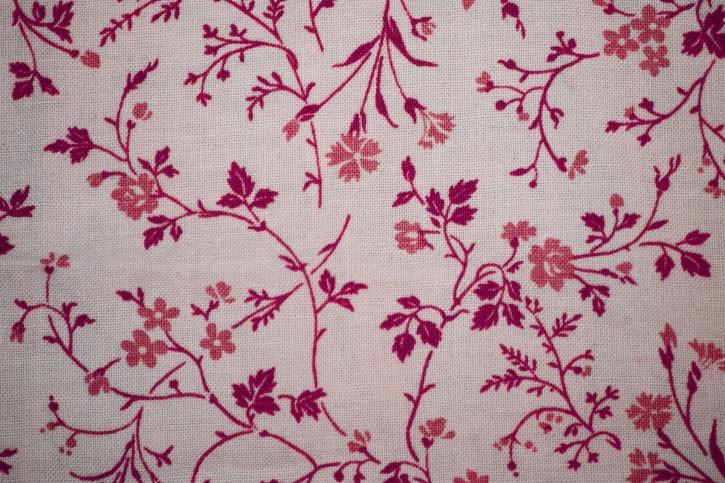 ružičasta, bijela, cvjetni print tkanine, Cvjetni dizajn, teksture