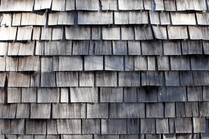 wooden plansk, shingle roof tiles, texture