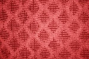 rouge, lavette, serviette, modèle, gros plan