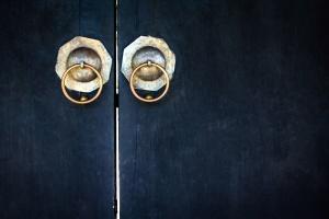 antique door, architecture, dark, design, handles