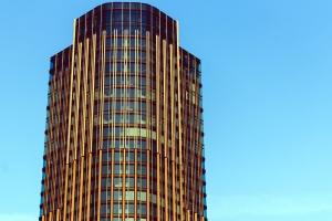 high building, perspective, skyscraper, structure