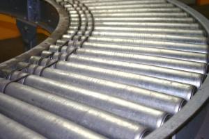 industrial conveyor belt, metal